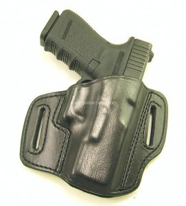 RH black don hume H721-OT holster for a Glock 19