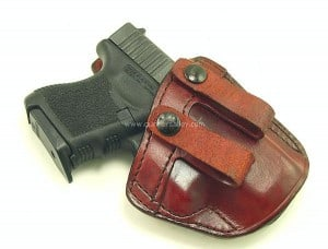 Glock 26 in a Don Hume PCCH Holster