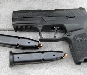 Sig P320 Compact with Apex Flat trigger installed